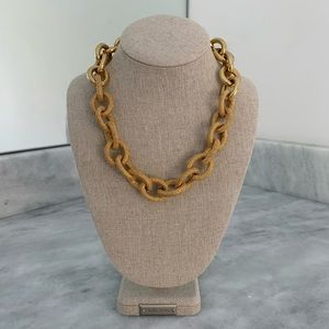 Banana Republic Chunky Gold Link Necklace